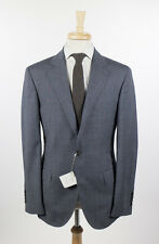 NWT BRUNELLO CUCINELLI Gray Plaid Wool 3 Roll 2 Button Sport Coat 50/40 R $3225
