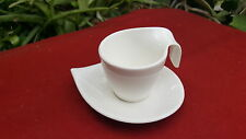 Villeroy and boch, Flow coffe cup and saucer,NewWave varient, made in luxembourg