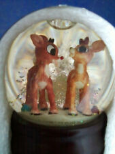 Rudolph The Red Nosed Reindeer Musical Water Globe