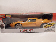 FORD GT 1:14 SCALE 49 MHz Remote Radio Control Toy Car Yellow  KIDS 3+ NEW