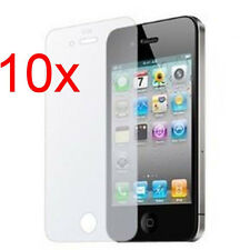 10pcs Front Matte Anti Glare Screen Protector cover film For iPhone 4 4S