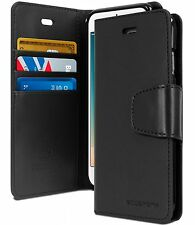 Flip Diary Dual Coated leather wallet Case Cover For APPLE iPhone 5s 6 & 7 Plus
