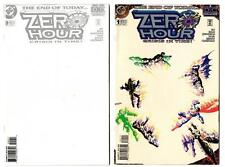Zero Hour: Crisis in Time #0-4 (1994) DC VF/NM to NM