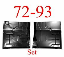 72 93 Dodge Floor Pan Set, Panel, Regular & Club Cab Truck, 1580-221, 1580-222