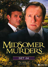 Midsomer Murders Set 24 BRAND New DVD SHIPS NEXT DAY RARE OOP SEALED TV SHOW