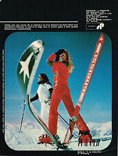 PUBLICITE ADVERTISING 045  1971  NILSEC SKIDREFF vetements de ski