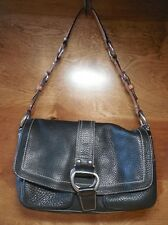 Coach Chelsea Black Pebbled Leather Hobo Handbag F10893