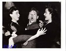 Judy Garland Mickey Rooney Ann  Rutherford VINTAGE Photo