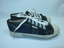 """VANS """"RARE & VINTAGE"""" Plaid Sneakers Women's 5 """"MADE IN USA"""""""