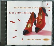 Bert Kaempfert   CD   THAT LATIN FEELING  © 1997 Polydor 537 468-2