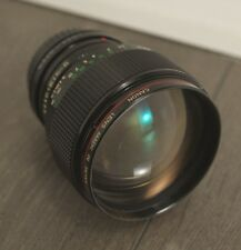 Canon FD 85mm 1.2 L lens – near mint