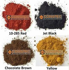 4 lbs Mixed Lot RED BROWN BLACK YELLOW Concrete Color Pigment Dye for Cement