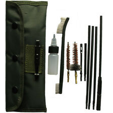 10 Piece .22 22LR .223 556 Rifle Gun Cleaning Kit Set Cleaning Rod Brush NEW