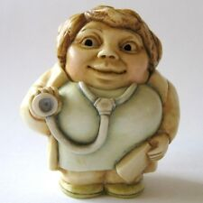 Life Saver - Pot Bellys - NIB - Doctor Figurine - Martin Perry Studios