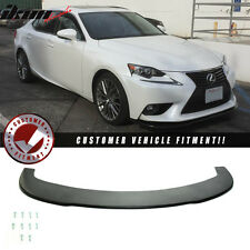 2014+ Lexus IS250 IS350 Front Bumper Under Lip Splitter Polyurethane PU