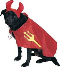 NWT Devil Dog Cat Pet Costume Medium Halloween