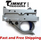 Timeny Ruger 10/22 Drop In Competiton Trigger Group - Silver Housing & Blue Shoe