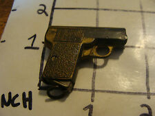 Early Super Cool pre war GERMAN pencil sharpener GUN, w eraser