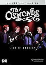 THE OSMONDS LIVE IN CONCERT LONDON 2006 DVD COLLECTORS EDITION MUSIC