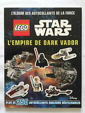 ALBUM AUTOCOLLANT FORCE LEGO STAR WARS L'EMPIRE DARK VADOR 250 STICKERS 2015