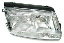 clear finish right side headlight H7 H1 front light for Passat 3B 96-00