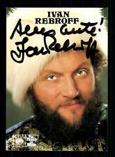 Ivan Rebroff  Autogrammkarte Original Signiert ## BC 72426