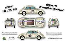 [FFSMC Productions] Decals 1/24 Herbie (The Love Bug)