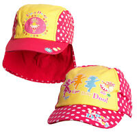 In The Night Garden Upsy Daisy Girls Cotton Peak Cap & Legionnaires Hat 2 Pack