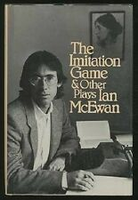 Ian McEwan~THE IMITATION GAME & OTHER PLAYS~1ST/DJ~NICE COPY