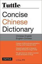 Tuttle Concise Chinese Dictionary: Chinese-English English-Chinese [Fully Romani