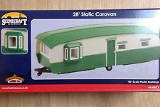 BACHMANN SCENECRAFT  STATIC CARAVAN   NEW, BOXED