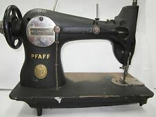 ANTIQUE VINTAGE PFAFF SEWING MACHINE CAST IRON Made in Germany VERY OLD! 133K6B