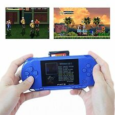 PXP 3 Slim - Sapphire Portable Video Game Player 16 Bit 100+ Games handhold gift