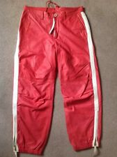 Dsquared Mens Leather Jogging Trousers / Pants - Size IT 46