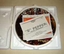 The Beatles 1967-1970 Collection SGT PEPPER 25TH ANNIVERSARY Grammy Plate Bx+COA