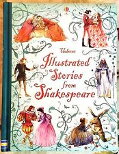 Usborne Illustrated Stories from Shakespeare c2014 NEW Hardcover