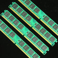 4GB 4X1GB PC2-6400 800 DDR2 800MHZ Desktop Memory 240PIN 4G RAM low DENSITY DIMM