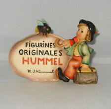 "Very Rare Hummel ""FRENCH DEALER PLAQUE"" Hum 208 TMK 2 Full Bee"