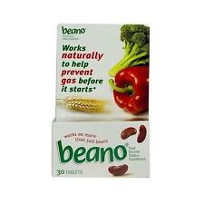 BEANO to Help Prevent Gas and Bloating  30 tablets