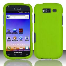 For T-Mobile Samsung Galaxy S BLAZE 4G Rubberized Hard Phone Case Cover - Green