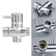 New T-adapter 3 Ways Valve For Diverter Bath Toilet Bidet Sprayer Shower Head