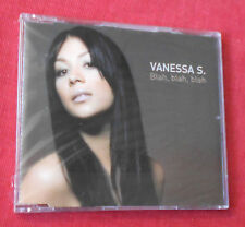 VANESSA S. Blah, Blah, Blah +4 2004 MAXI CD NEU MINT STILL SEALED MCD