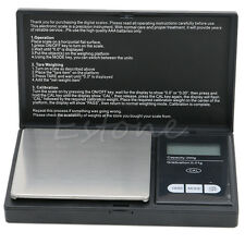 Mini LCD Digital Pocket Jewellery Scale Gram Balance Weight 200g x 0.01g