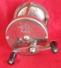 ancien moulinet de pêche MAB laiton chromé  / Fishing reel