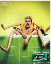 Publicité Advertising 2006 Le Gel Douche Axe Position N°157 Repos du Crabe