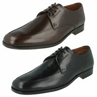 MENS GRENSON LEATHER LACE UP CALF APRON GIBSON SMART OFFICE SHOES REIMS £79.99