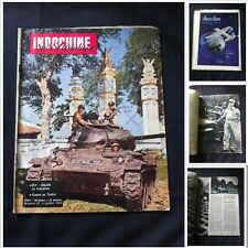 MILITARIA INDOCHINE  SUD EST ASIATIQUE N° 31 JUIL 1954 INDOCHINA MAZINE COLONIE