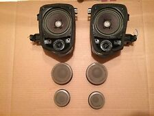 BMW E36 Convertible tan front speakers tweeters w Rear HK Harman/Kardon Speakers