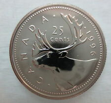 1996 CANADA 25 CENTS PROOF-LIKE COIN - A