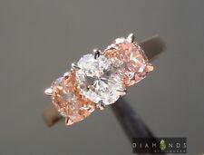 .50ct G SI1 Oval Brilliant Three Stone Diamond Ring R7106 Diamonds by Lauren